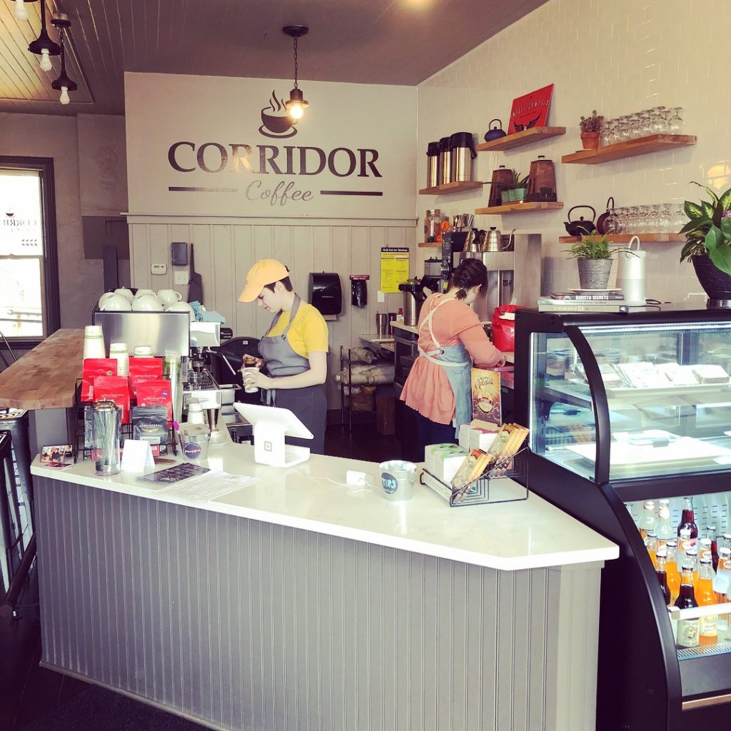 Corridor Coffee Counter Service